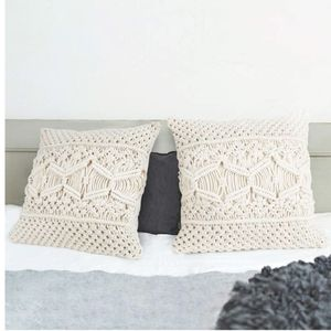 Urban Outfitters Throw Pillow Cover Macrame Case